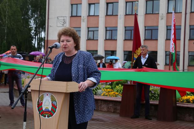 За мир, за независимость, за страну – в Горках прошел митинг в поддержку стабильности Беларуси